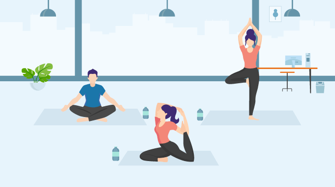 14 Fantastic Benefits Of Yoga In The Workplace