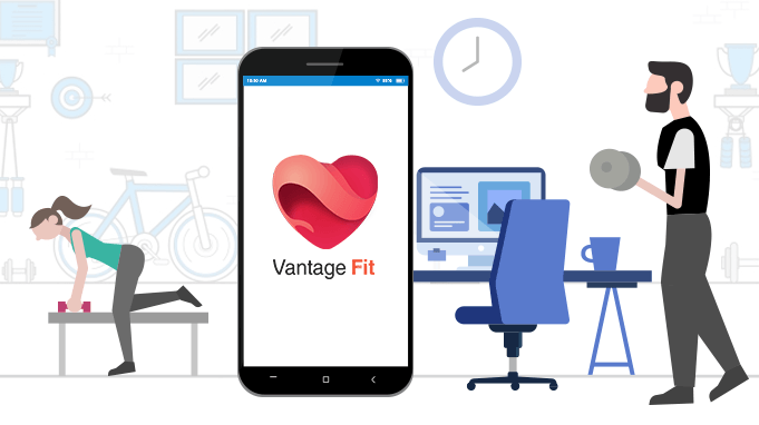 Vantage Fit: A Complete Solution to your Employee Wellness Program