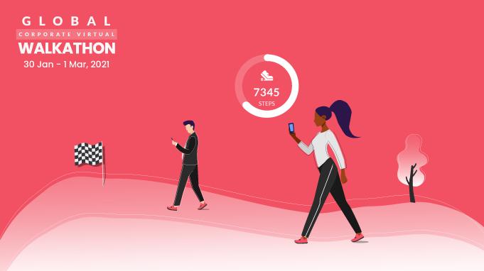The Global Corporate Virtual Walkathon 2021